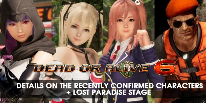 Dead or Alive, Dead or Alive 6, PS4, XONE, US, Europe, Japan, Asia, gameplay, features, release date, price, trailer, screenshots, updates, TGS, TGS 2018, Tokyo Game Show, Tokyo Game Show 2018, Koei Temco, Team Ninja