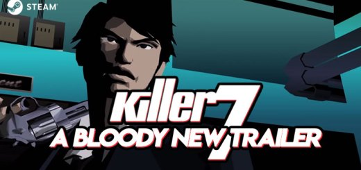 Killer 7, PC, Steam, release date, Steam Gift Cards, trailer, features, Story, new trailer, update