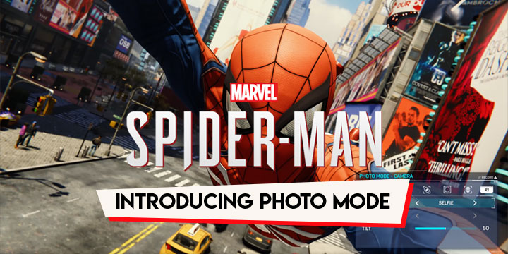 Spider Man First Let Me Take A Selfie With The Photo Mode