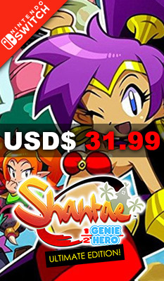 SHANTAE: HALF-GENIE HERO [ULTIMATE DAY ONE EDITION] Xseed Games