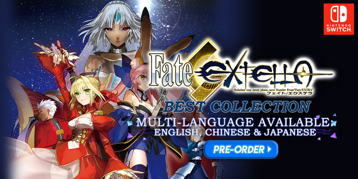 Fate/Extella, Fate/Extella [The Best]. Fate/Extella (Best Collection), Nintendo Switch, Switch, Asia, Multi-language, gameplay, features, release date, price, trailer, screenshots, Marvelous Entertainment