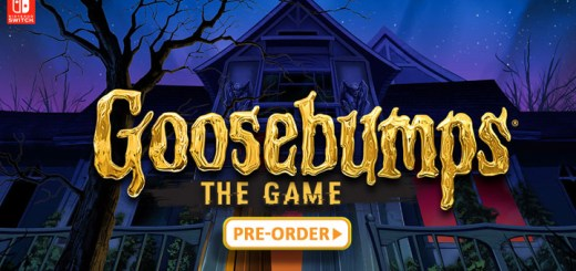 Goosebumps: The Game, Nintendo Switch, GameMill, video game, US, North America, Europe, release date, gameplay, features, price