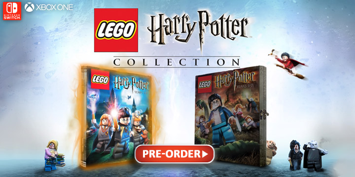 LEGO, Harry Potter, LEGO Harry Potter Collection, Nintendo Switch, Xbox One, Switch, XONE, US, Europe, gameplay, features, release date, price, trailer, screenshots