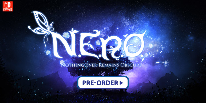 N.E.R.O. Nothing Ever Remains Obscure,NERO Nothing Ever Remains Obscure, Soedesco, Nintendo Switch, release date, gameplay, features, price, game, Europe, US, North America