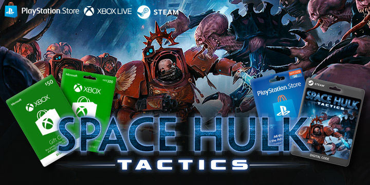 Honor your wargear with Space Hulk Tactics for PS4, XB1, and Steam!
