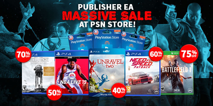 Sale Alert! Head on to PSN Store Now for a Huge Publisher