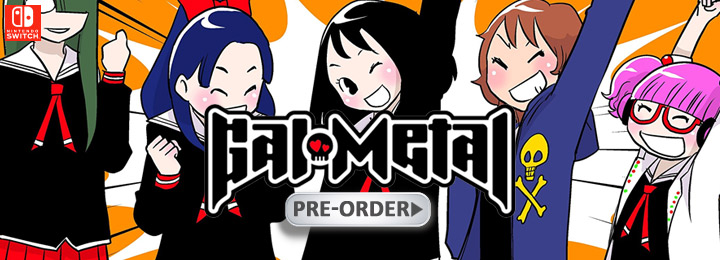 Gal Metal, US, Europe, Nintendo Switch, Switch, gameplay, features, release date, price, trailer, screenshots, Western release, update