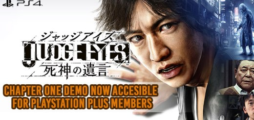 Judge Eyes: Shinigami no Yuigon, Project Judge,JUDGE EYES:死神の遺言 , Sega, PlayStation 4, PS4, Japan, Asia, gameplay, features, release date, price, trailer, screenshots, update, second demo, demo