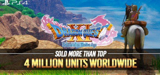 Dragon Quest XI: Echoes of an Elusive Age, PS4, US, Europe, Australia, Asia, gameplay, features, trailer, screenshots update, sales
