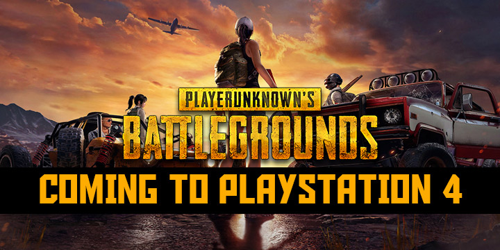 PlayerUnknown's Battlegrounds is Coming to PS4 this December