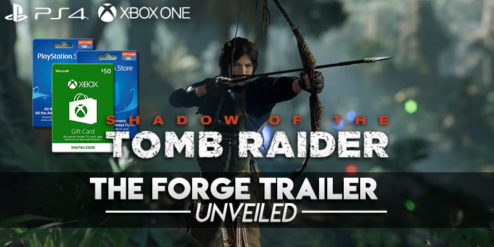 Shadow of the Tomb Raider, PlayStation 4, Xbox One, DLC, The Forge, The Forge DLC, first DLC, features, gameplay, price, North America, Europe, Japan, Asia, Australia, update, developer diary, release date, new trailer