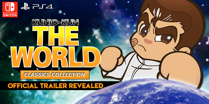 Kunio-kun: The World Classics, Kunio-kun: The World Classics Collection, PS4, Nintendo Switch, Switch, PlayStation 4, Asia, Japan, Arc System Works, H2 Interactive, gameplay, features, release date, price, trailer, screenshots, Multi-language, update, official trailer