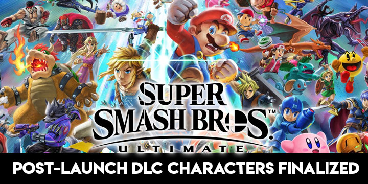 Super Smash Bros. Ultimate, Nintendo, Nintendo Switch, Nintendo Direct, gameplay, features, release date, price, trailer, screenshots, update, post-launch characters, DLC