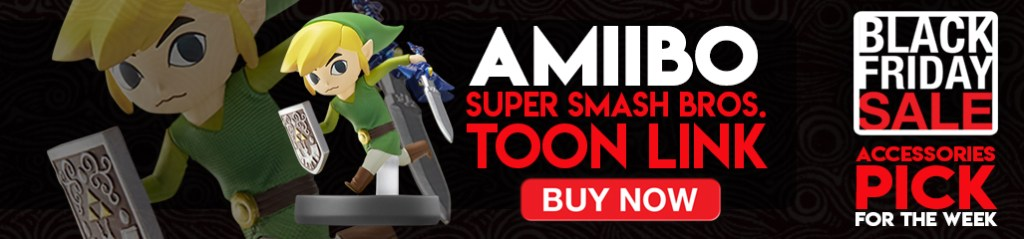 Black Friday, Black Friday Sale, Top Accessories of the Week, EMS TOpGun III, Amiibo, NEOGEO mini, Solaire of Astora, Toon Link, Taiko Drum Controller