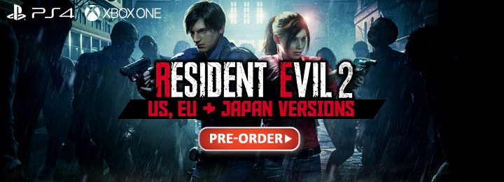 Resident Evil 2 (Multi-Language), PlayStation 4, Xbox One, Asia, Capcom, release date, gameplay, features, price, Resident Evil 2 Remake, BioHazard RE:2, trailer