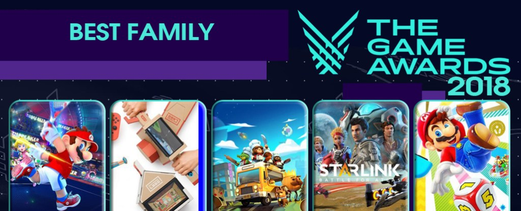 Resultado de imagen para best family game the game awards 2018