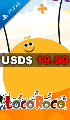 LOCOROCO (ENGLISH & CHINESE SUBS) Sony Computer Entertainment