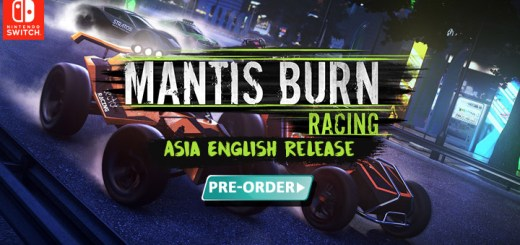 Mantis Burn Racing, Nintendo Switch, Asia, Japan, release date, features, price, gameplay, game, Voofoo, Flyhigh Works, trailer