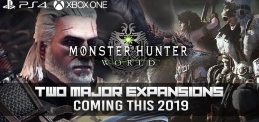 Monster Hunter, Monster Hunter: World, US, Europe, Japan, PS4, XONE, PlayStation 4, Xbox One, updates, Icebourne Expansion