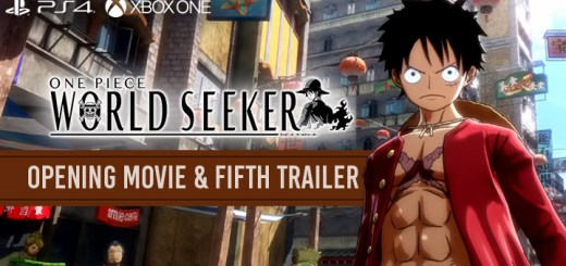 One Piece, One Piece: World Seeker, PS4, PlayStation 4, Xbox One, US, North America, Europe, PAL, Australia, Japan, Asia, release date, gameplay, features, price, game, Bandai Namco, update, opening movie, fifth trailer, trailer