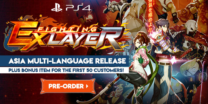Fighting Ex Layer, PlayStation 4, PS4, Asia, trailer, features, gameplay, price, release date, pre-order, game, multi-language