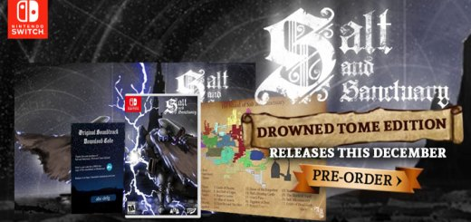 Salt and Sanctuary, Salt and Sanctuary: Drowned Tome Edition, Salt and Sanctuary [Drowned Tome Edition], Drowned Tome Edition, Nintendo Switch, Switch, US, gameplay, features, release date, price, trailer, screenshots, Leadman Games, SKA Studios, pre-order
