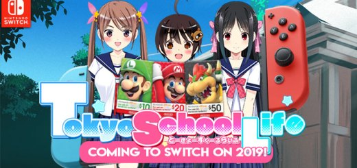 Tokyo School Life, Nintendo Switch, PQube, Romance visual novel, Visual Novel, release date, gameplay, features, trailer, Nintendo eShop cards, story, game, Switch
