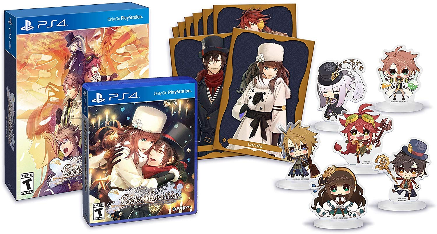Code: Realize Wintertide Miracles,Code: Realize Wintertide Miracles Limited Edition, Aksys Games, release date, price, game, gameplay, features, pre-order