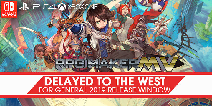RPG Maker MV for PS4, XONE and Switch: Delayed to the West