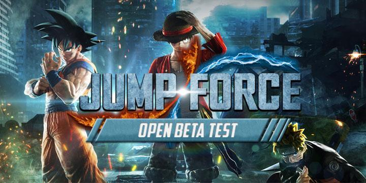 Bandai Namco Revealed The Open Beta Test Schedule For Jump
