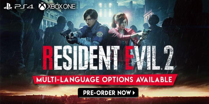 Resident Evil 2, Resident Evil 2 (Multi-Language), Multi-language, PS4, XONE, PlayStation 4, Xbox One, Asia, gameplay, features, release date, price, trailer, screenshots