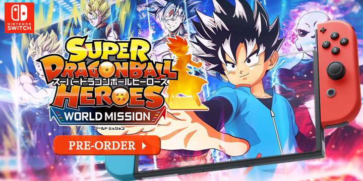 Super Dragon Ball Heroes World Mission Heads West Pre Order Now