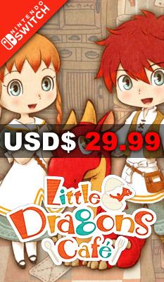 LITTLE DRAGONS CAFE Aksys Games