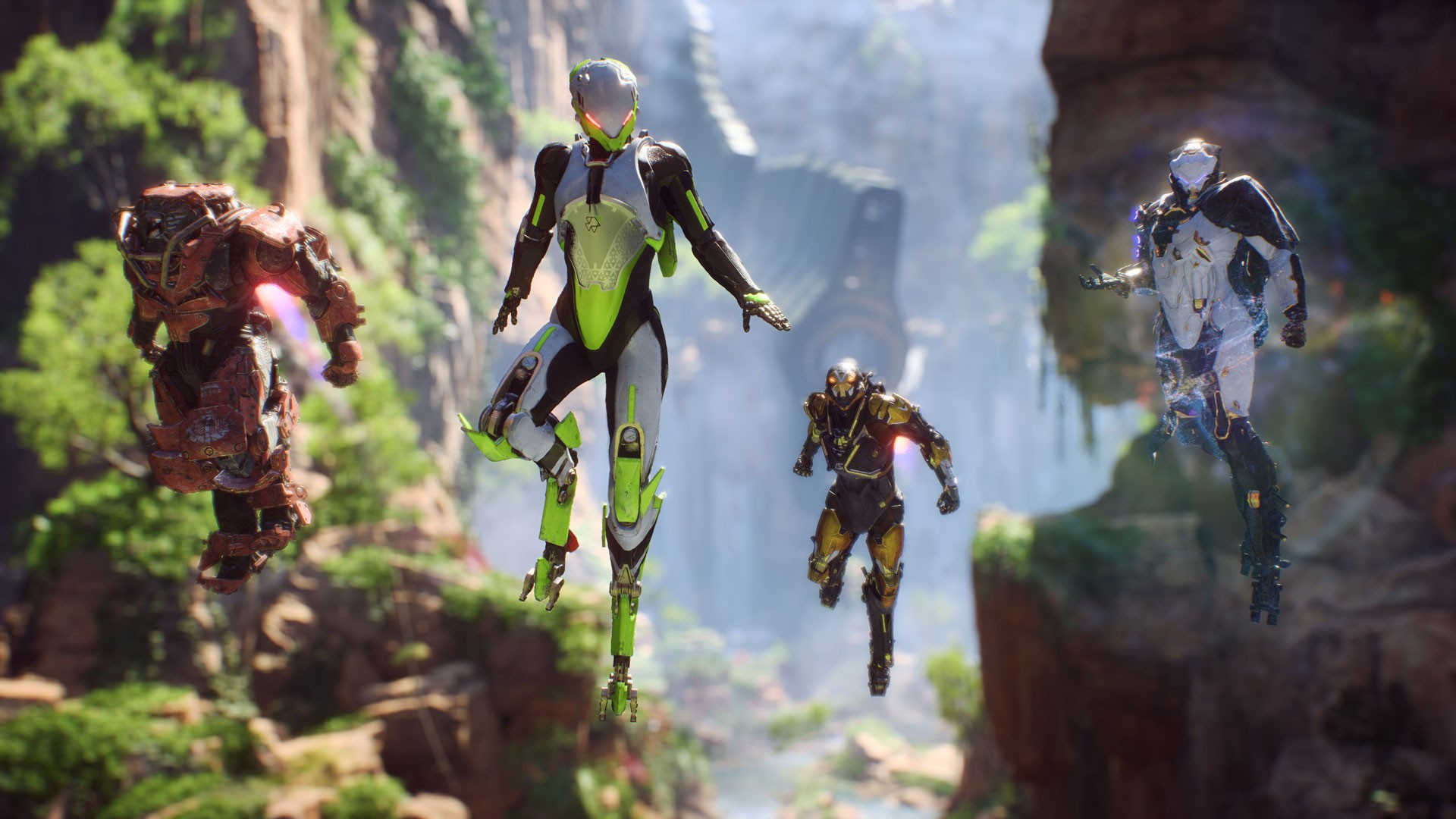 EA, Electronic Arts, BioWare, Anthem, PS4, XONE, PlayStation 4, Xbox One, US, Europe, Japan, Asia, gameplay, features, release date, price, trailer, screenshots, digital