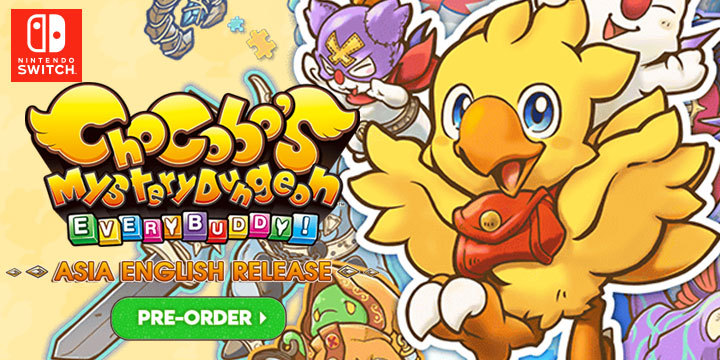 Get Your Chocobo's Mystery Dungeon: Every Buddy! Asia English