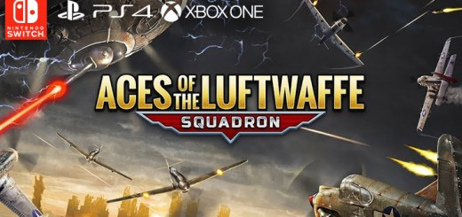 Aces of the Luftwaffe: Squadron, ps4, xbox one, nintendo switch, THQ Nordic, usa, europe, gameplay, features, release date, price, trailer, screenshots