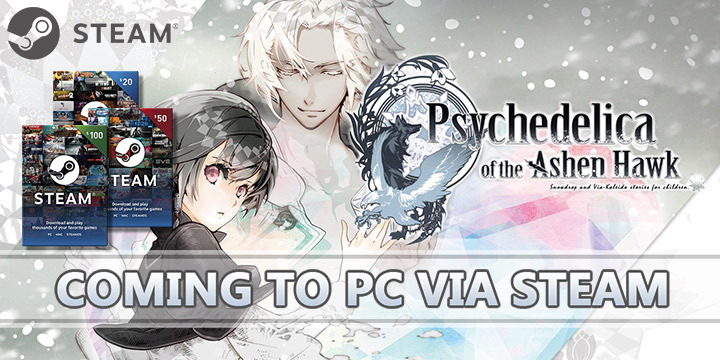 Psychedelica of the Ashen Hawk: Coming to PC via Steam this