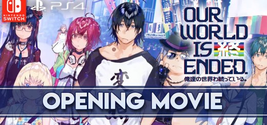 Our World is Ended, PS4, PlayStation 4, Nintendo Switch, Switch, release date, price, game, gameplay, features, trailer, update, news, pre-order, West, Japan, Europe, PQube, North America, opening movie