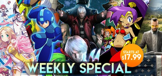 WEEKLY SPECIAL: Devil May Cry 4, Shantae: Half-Genie Hero, Gal*Gun 2, & More!