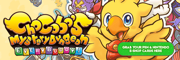 Chocobo's Mystery Dungeon: Every Buddy!, West, North America, Europe, English, release date, price, game, gameplay, features, trailer, pre-order, Nintendo Switch, Switch, PS4, PlayStation 4, Square Enix, update, news, digital pre-order