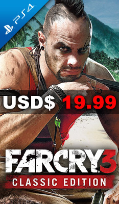 FAR CRY 3 [CLASSIC EDITION] Ubisoft