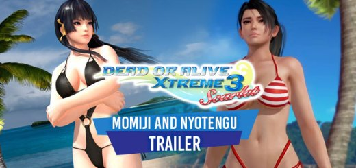 Dead or Alive Xtreme 3: Scarlet, Dead or Alive Xtreme 3, Dead or Alive, Koei Tecmo, Team Ninja, PS4, Switch, Japan, Asia, gameplay, features, release date, price, trailer, screenshots, update, news, Momiji and Nyotengu, new trailer