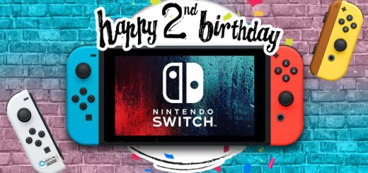 Nintendo Switch, 2 years, 2 Years Old, 2nd Anniversary, Nintendo, Switch, console