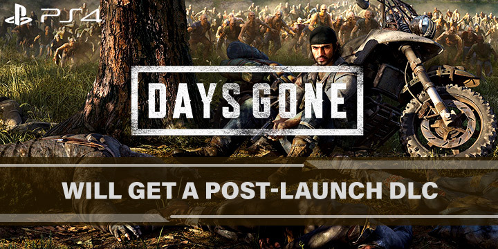 Days Gone, PS4, PlayStation 4, US, Europe, Asia, gameplay, features, release date, price, trailer, screenshots, update, DLC, post-launch DLC