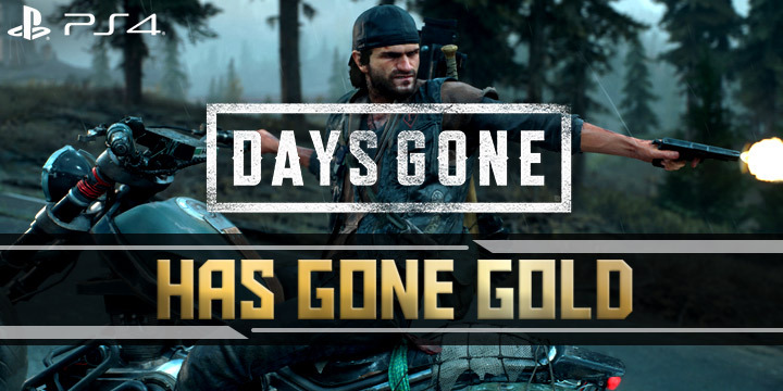 Days Gone, PS4, PlayStation 4, US, Europe, Asia, gameplay, features, release date, price, trailer, screenshots, update, gone gold