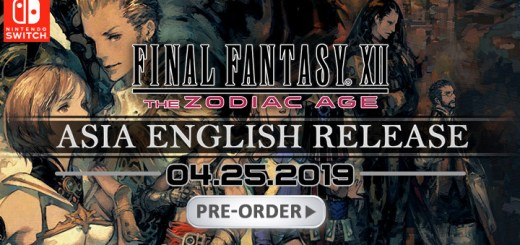 Final Fantasy XII: The Zodiac Age, Multi-language, Final Fantasy, Nintendo Switch, Switch, release date, game, price, gameplay, features, Square Enix, Asia, pre-order