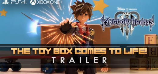 Kingdom Hearts III, Square Enix, PS4, XONE, US, Europe, Australia, Japan, update, Square Enix, screenshots, trailer, update, news, The Toy Box Comes to Life, new trailer, stop motion