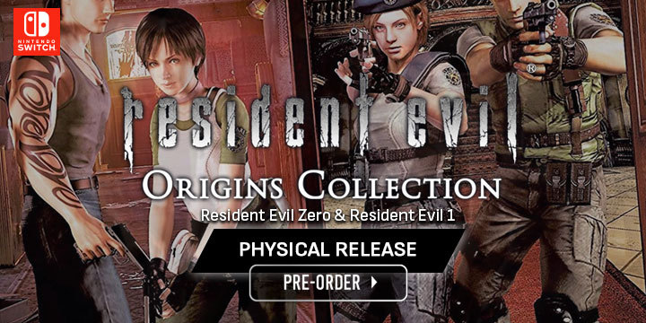 Resident Evil Origins Collection Re0 1 Remastered In One Physical Release
