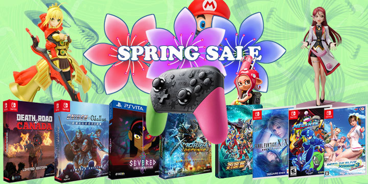 Put a Spring in your Gaming - Up to 90% off in our SPRING