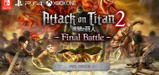 Attack on Titan 2: Final Battle, release date, US, North America, Europe, Asia, Japan, PAL, gameplay, features, price, pre-order, Koei Tecmo Games, PS4, PlayStation 4, Switch, Nintendo Switch, Xbox One
